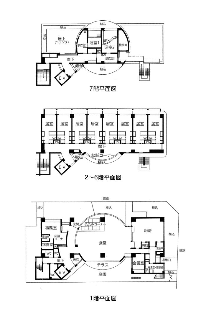 全館平面図