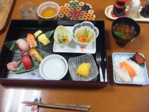 11月23日 にぎり寿司